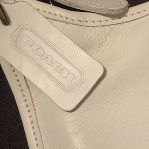 Médium coach leather purse